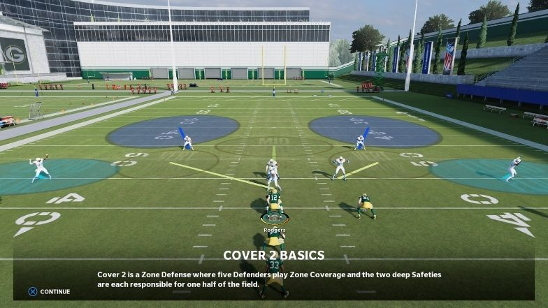 Reading the defense Madden 22