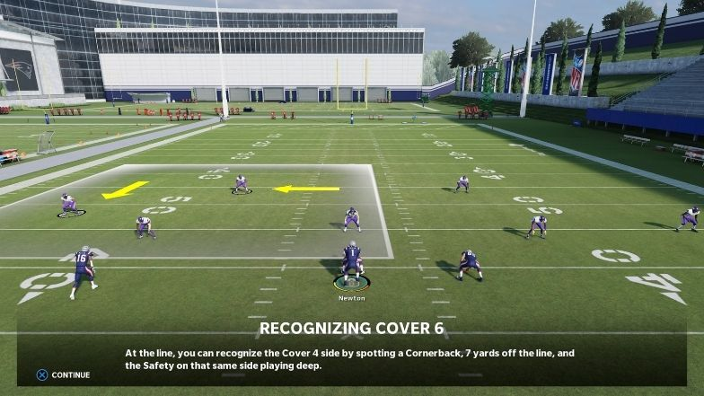 Recognizing and attacking Cover 6