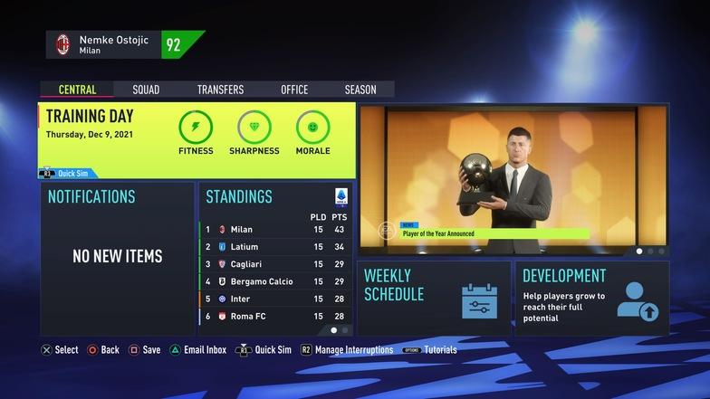 FIFA 22 Best training drills