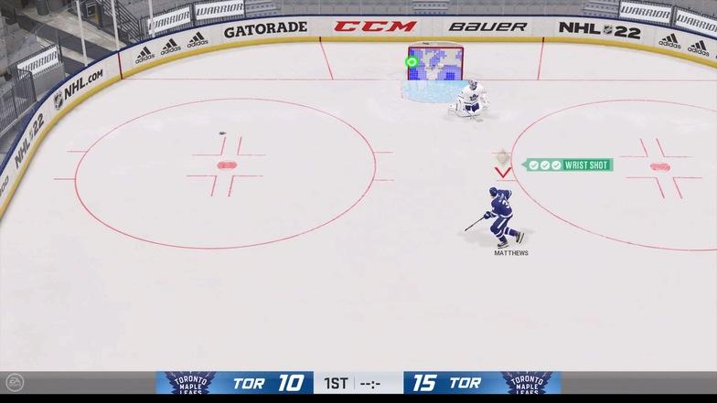 How to do the wrist shot NHL 22